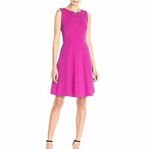 Ivanka Trump Toggle Scuba Knit Fit Dress 6